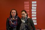 9.10.2015, Berlin Seminar der ZWST. Elisa Witorsovsky (dunkle Haare) und Maya Grossman