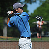 Alec Bard of New Hartford High School tees off on the 1st Hole of Bethpage State Park's Black Course during the New York State Federation Golf Tournament on Sunday, June 7, 2015.<br /> <br /> James Escher