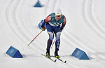 Simeon Hamilton (USA). Mens sprint classic qualification. Cross country skiing. Alpensia Croos-Country skiing centre. Pyeongchang2018 winter Olympics. Alpensia. Republic of Korea. 13/02/2018. ~ MANDATORY CREDIT Garry Bowden/SIPPA - NO UNAUTHORISED USE - +44 7837 394578