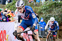 Picture by Alex Whitehead/SWpix.com - 04/02/2018 - Cycling - 2018 UCI Cyclo-Cross World Championships - Valkenburg, The Netherlands - Great Britain's Ben Turner in action during the Men's U23 race.