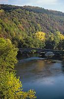 Europe/France/Auvergne/63/Puy-de-Dôme/Parc Régional des Volcans/Pont de Menat: La vallée de la Sioule