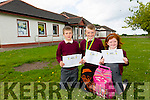 6th class student of Kilmoyley National school Daire Nolan has 100% Attendance, has never missed a day in 8years of school here with brother and sister Conor 5th class and Laura 2nd class Nolan who both have 100% attendance as well