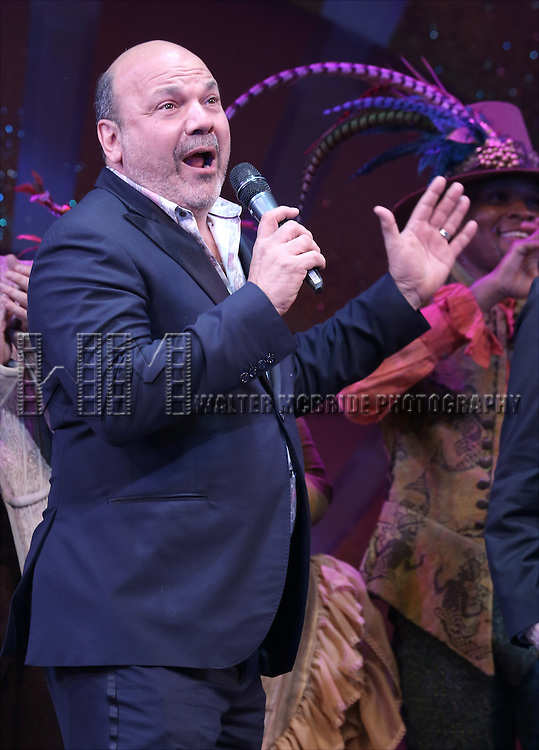 Casey Nicholaw during the Broadway Opening Night Curtain Call for 'Something Rotten' at the St. James Theatre on April 22, 2015 in New York City.