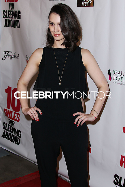 """HOLLYWOOD, LOS ANGELES, CA, USA - APRIL 01: Alexandra Von Renner at the Los Angeles Premiere Of Screen Media Films' """"10 Rules For Sleeping Around"""" held at the Egyptian Theatre on April 1, 2014 in Hollywood, Los Angeles, California, United States. (Photo by Xavier Collin/Celebrity Monitor)"""