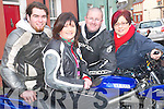 Follow the fun: Mathew Hannon, Kilflynn, Catherine Walsh and Barry Hartnett, .Clarina and Joanne Kelly Walsh, Ballybunion following the fundraising poker .run which left from the New Kingdom Bar in Listowel on Sunday and aimed to .raise money for the Athea Road Race this summer..   Copyright Kerry's Eye 2008