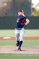 Jason Knapp - AZL Indians - 2010 Arizona League. Knapp, acquired by the Indians from the Phillies last year, is rehabbing a shoulder injury in the AZL. He's pitching here against the Athletics at Papago Park, Phoenix, AZ - 08/10/2010.Photo by:  Bill Mitchell/Four Seam Images..