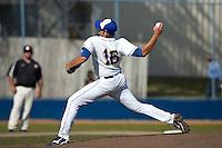 SAN ANTONIO, TX - APRIL 3, 2009: The University of Texas of the Permian Basin Falcons vs. St. Mary's University Rattlers Baseball at V.J. Keefe Memorial Stadium. (Photo by Jeff Huehn)