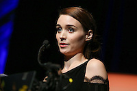 SANTA BARBARA, CA - FEBRUARY 01: Rooney Mara inside during the 29th Santa Barbara International Film Festival - Outstanding Performer of the Year Award Honoring Cate Blanchett held at Arlington Theatre on February 1, 2014 in Santa Barbara, California. (Photo by Xavier Collin/Celebrity Monitor)