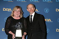 LOS ANGELES - FEB 2:  Kathleen McGill, Ron Howard at the 2019 Directors Guild of America Awards at the Dolby Ballroom on February 2, 2019 in Los Angeles, CA