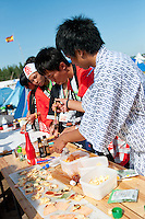 Food from Asia in Autumn. Photo: Malin Serner/SCOUTERNA