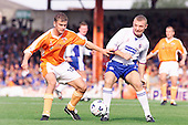 23/09/2000 Football League Division 3 Blackpool v Chesterfield<br /> <br /> 38141 wellens action<br /> <br /> © Phill Heywood