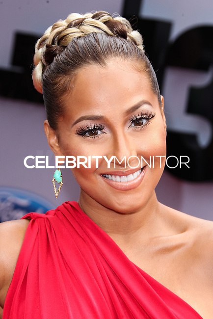LOS ANGELES, CA - JUNE 30: Adrienne Bailon attends the 2013 BET Awards at Nokia Theatre L.A. Live on June 30, 2013 in Los Angeles, California. (Photo by Celebrity Monitor)
