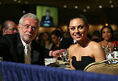 Actress Mila Kunis joins CNN's Wolf Blitzer at the CNN table during the annual White House Correspondent's Association Gala at the Washington Hilton Hotel, Washington, DC, Saturday, April 30, 2011..Credit: Martin Simon / Pool via CNP