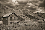 Duncan House at Animas Forks ghost town