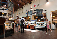 Occidental College Marketplace, Los Angeles, California, 2009. (Photo by Marc Campos, College Photographer, Copyright Occidental College 2009)