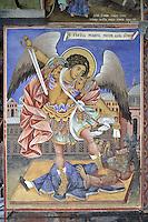 BG41182.JPG BULGARIA, RILA MONASTERY, CHURCH OF NATIVITY, frescoes