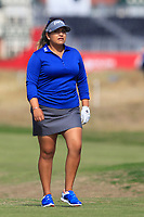 Lizette Salas (USA) on the 2nd during Round 3 of the Ricoh Women's British Open at Royal Lytham &amp; St. Annes on Saturday 4th August 2018.<br /> Picture:  Thos Caffrey / Golffile<br /> <br /> All photo usage must carry mandatory copyright credit (&copy; Golffile | Thos Caffrey)