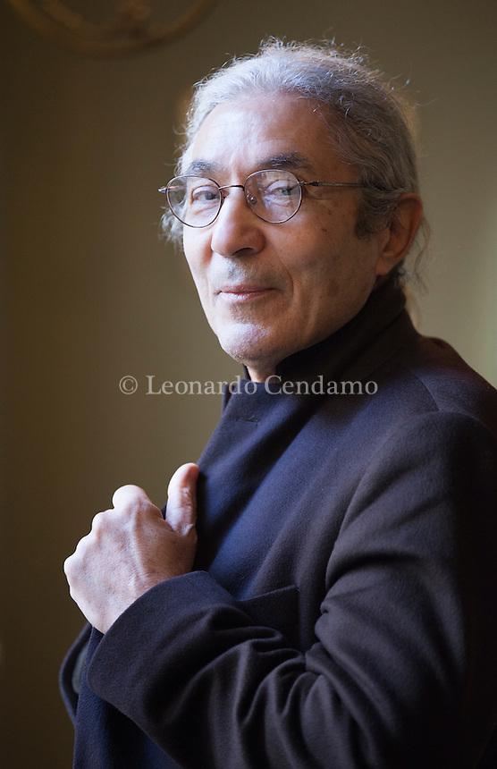 Boualem Sansal è uno scrittore algerino, attivo nella condanna del Fondamentalismo islamico dal 1992, anno della morte del politico Mohamed Boudiaf, seguita da quella di un suo amico e al crescere delle persecuzioni. Roma, 1 marzo 2016. © Leonardo Cendamo