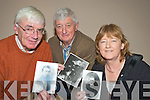 Tim O'Brien, Michael Spillane and Marie Murphy, Fossa Historical Society, who held a meeting in the Killarney Valley hotel on Monday night do discuss the possibility of doing another book on the Fossa area.   Copyright Kerry's Eye 2008