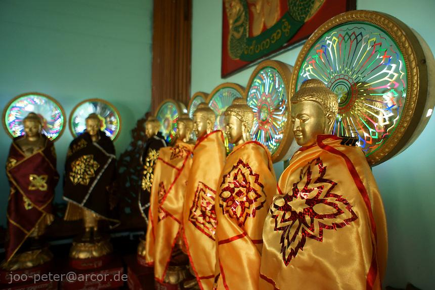 Sula Paya pagoda complex, center of Yangon, Myanmar, 2011