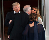 United States President Donald J. Trump and First lady Melania Trump welcome Australia's Prime Minister Scott Morrison and Mrs. Jennifer Morrison for a State Dinner at the White House in Washington, DC on Friday, September 20, 2019.<br /> Credit: Chris Kleponis / Pool via CNP