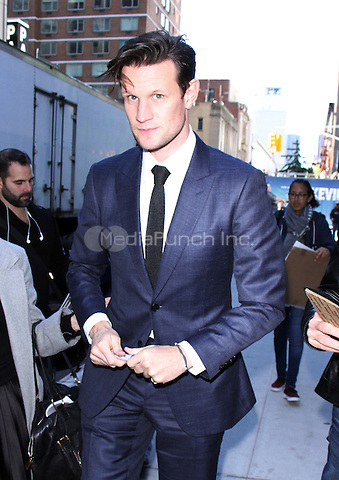 NEW YORK, NY-October 24: Matt Smith at Netflix's  screening of The Crown  at Robin Williams screening room  in New York.October 24, 2016. Credit:RW/MediaPunch