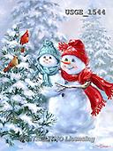 Dona Gelsinger, CHRISTMAS SANTA, SNOWMAN, WEIHNACHTSMÄNNER, SCHNEEMÄNNER, PAPÁ NOEL, MUÑECOS DE NIEVE, paintings+++++,USGE1544,#X#