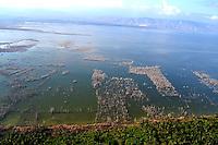 REPUBLICA DOMINICANA, RD, Lago Enrriquillo, Diferentes vistas aerea de la zona sur del pais y de la capital  Santo Domingo..Lugar:Zona Sur, RD.Foto:Cesar de la Cruz.Fecha:.