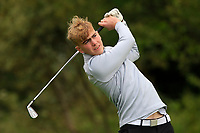 Sean Hession (Ballinrobe) on the 1st tee during the Connacht U12, U14, U16, U18 Close Finals 2019 in Mountbellew Golf Club, Mountbellew, Co. Galway on Monday 12th August 2019.<br /> <br /> Picture:  Thos Caffrey / www.golffile.ie<br /> <br /> All photos usage must carry mandatory copyright credit (© Golffile | Thos Caffrey)