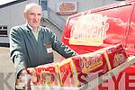 Derry O'Brien, Killorglin, who retired on Saturday from O'Sullivan's Bakery in Killorglin after 52 years service. ...... ..........................