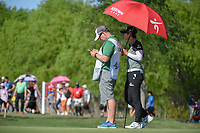 Sung Hyun Park (KOR) looks over her putt on 17 during round 2 of  the Volunteers of America LPGA Texas Classic, at the Old American Golf Club in The Colony, Texas, USA. 5/6/2018.<br /> Picture: Golffile | Ken Murray<br /> <br /> <br /> All photo usage must carry mandatory copyright credit (&copy; Golffile | Ken Murray)