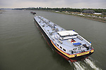 Tanker on the Rhine in Dusseldorf before the start of Stage 2 of the 104th edition of the Tour de France 2017, running 203.5km from Dusseldorf, Germany to Liege, Belgium. 2nd July 2017.<br /> Picture: Eoin Clarke | Cyclefile<br /> <br /> <br /> All photos usage must carry mandatory copyright credit (&copy; Cyclefile | Eoin Clarke)