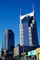 First Union and Bell South Towers dominate the Nashville skyline, Tennessee