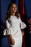 Madrid Wax Museum presents the Melania Trump's wax figure in Madrid on July 20, 2017.<br /> Wax figure's of the First Lady of the United State of America Melania Trump
