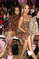 NEW YORK, NY- SEPTEMBER 8: Kehlani and Jasmine Sanders at the Saweetie NYFW 2019 Runway Show in New York City on September 8, 2019. <br /> CAP/MPIWG<br /> ©WG/MPI/Capital Pictures