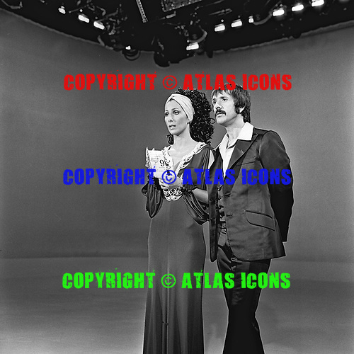Cher; Sonny Bono; 1970; Live; TV Show taping<br /> Photo Credit: James Fortune/AtlasIcons.com