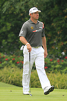 Lee Westwood (ENG) on the 8th tee during Round 3 of the CIMB Classic in the Kuala Lumpur Golf & Country Club on Saturday 1st November 2014.<br /> Picture:  Thos Caffrey / www.golffile.ie