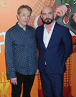 "07 April 2019 - New York, New York - Carter Burwell and Chris Butler at the New York Premiere of ""MISSING LINK"", held at Regal Cinemas Battery Park II. Photo Credit: LJ Fotos/AdMedia"