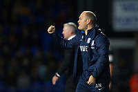 Alex Neil, Manager of Preston North End pretty pleased with the effort and the equalising goal during Ipswich Town vs Preston North End, Sky Bet EFL Championship Football at Portman Road on 3rd November 2018
