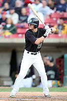 August 29, 2009: Stephen Parker of the Kane County Cougars.The Cougars are the Midwest league League affiliate for the Oakland Athletics. Photo by: Chris Proctor/Four Seam Images