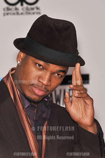 Ne-Yo at the 2010 American Music Awards at the Nokia Theatre L.A. Live in downtown Los Angeles..November 21, 2010  Los Angeles, CA.Picture: Paul Smith / Featureflash