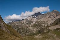 Scenery along the Tour du Mont Blanc, September 2007.
