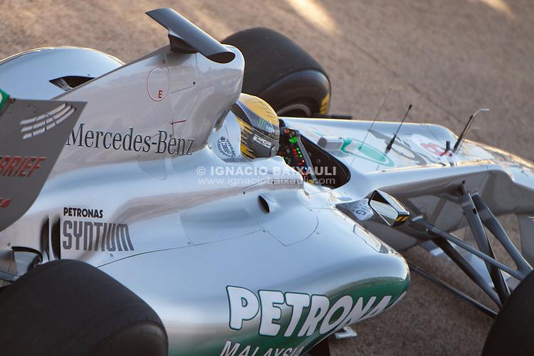 Entrenamientos Fórmula 1 1/2/2010