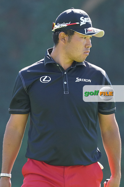 Hideki Matsuyama (JPN) during the 1st round of The Genesis Invitational, Riviera Country Club, Pacific Palisades, Los Angeles, USA. 12/02/2020<br /> Picture: Golffile | Phil Inglis<br /> <br /> <br /> All photo usage must carry mandatory copyright credit (© Golffile | Phil Inglis)