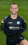 St Johnstone FC Season 2012-13 Photocall.Alan Mannus.Picture by Graeme Hart..Copyright Perthshire Picture Agency.Tel: 01738 623350  Mobile: 07990 594431
