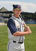 2007:  Bobby Spain of the State College Spikes poses for a photo prior to a game vs. the Batavia Muckdogs in New York-Penn League baseball action.  Photo copyright Mike Janes Photography 2007.