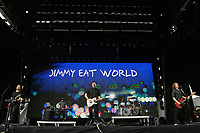 SÃO PAULO,SP, 26.03.2017 - LOLLAPALOOZA 2017 – Banda Jimmy Eat World se apresenta no festival Lollapalooza 2017, realizado no Autódromo de Interlagos em São Paulo, na tarde deste domingo, 26. (Foto: Levi Bianco/Brazil Photo Press)