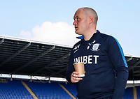 Preston North End's manager Alex Neil pictured before the match<br /> <br /> Photographer Andrew Kearns/CameraSport<br /> <br /> The EFL Sky Bet Championship - Reading v Preston North End - Saturday 30th March 2019 - Madejski Stadium - Reading<br /> <br /> World Copyright © 2019 CameraSport. All rights reserved. 43 Linden Ave. Countesthorpe. Leicester. England. LE8 5PG - Tel: +44 (0) 116 277 4147 - admin@camerasport.com - www.camerasport.com