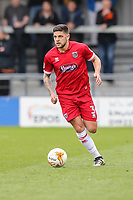 Danny Andrew of Grimsby Town during the Sky Bet League 2 match between Barnet and Grimsby Town at The Hive, London, England on 29 April 2017. Photo by David Horn.