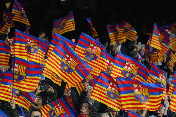 UEFA Champions League 2018/2019.<br /> Quarter-finals 2nd leg.<br /> FC Barcelona vs Manchester United: 3-0.